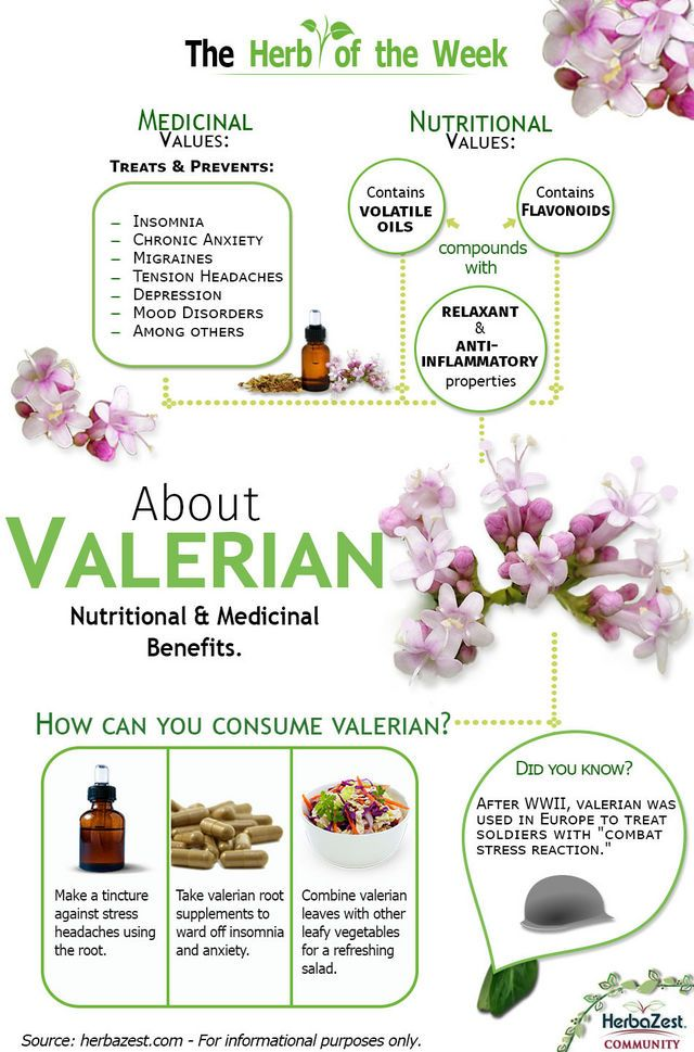 I looooooove Valerian root!!! #anxiety -  This useful infographic will show you the amazing health benefits and properties that are hidden inside the powerful valerian roots and their volatile oil compounds.