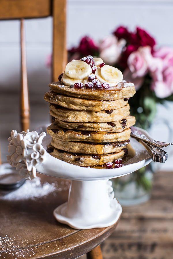 Ricotta Chocolate Chip Banana and Chia Pancakes | halfbakedharvest.com @hbharvest