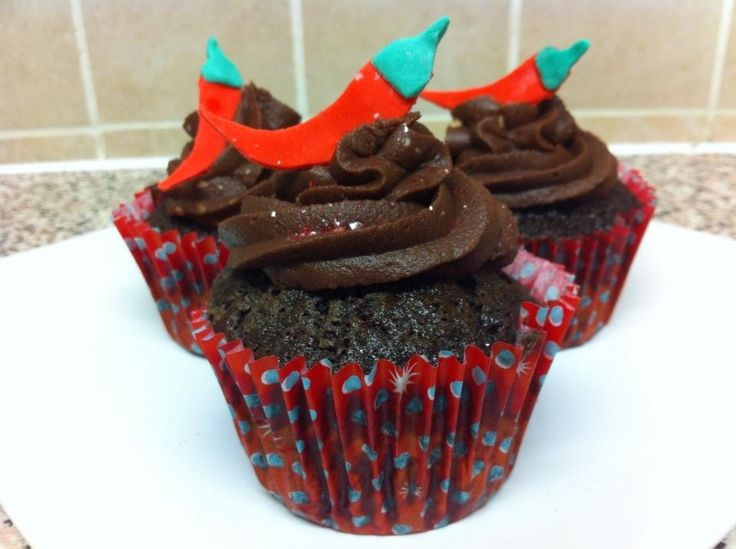 Chilli chocolate cupcakes!