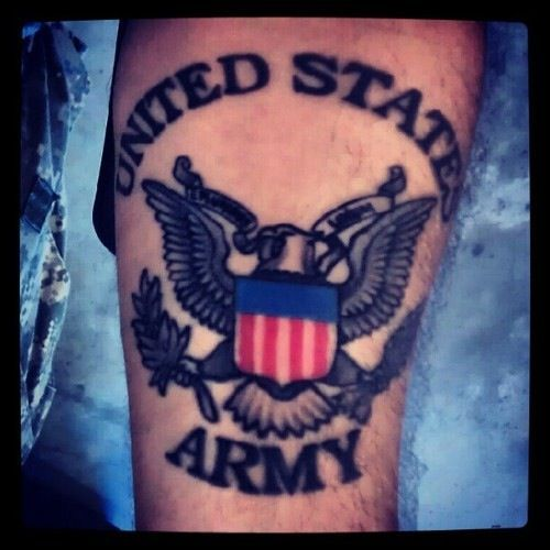 19 Best Army Tattoo Design Images On Pinterest
