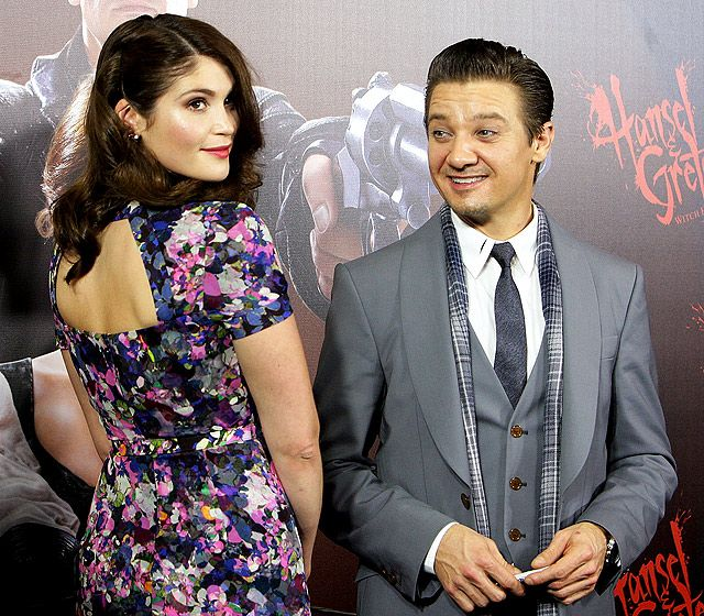 Gemma Arteron and Jeremy Renner graced the red carpet for the Sydney, Australia premiere of Hansel and Gretel: Witch Hunters Jan. 29.