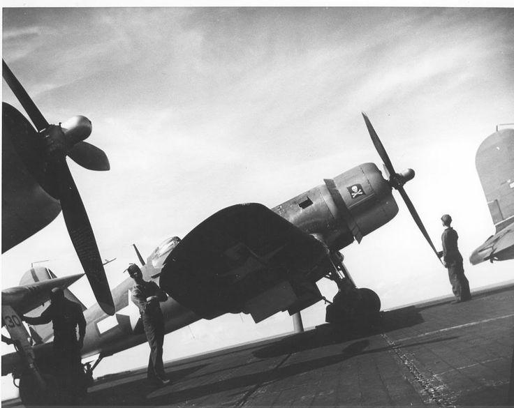 F4U-1A Corsair of VF-17 USS Bunker Hill CV-17