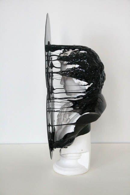 Woah, definitely a work of art! (sculpture by nick van woert)