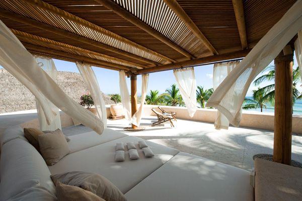 Beach villa overlooking Banderas Bay