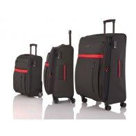 Zestaw 3 walizek Travelite exclusive, antracyt + czerwony