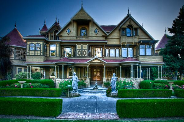 Winchester House  As one of two homes in California sanctioned by the U.S. Commerce Department as being haunted (the other is the Whaley House, mentioned earlier) the Winchester House stands alone as perhaps the most bizarre haunted home in the U.S.