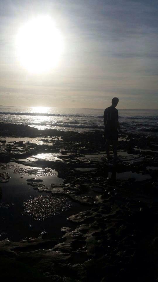 Morning beach days☀️