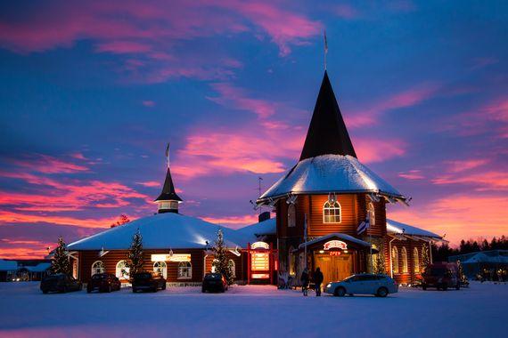 Nine Totally Unique Christmas Markets in Europe|Trivago.co.uk  Santa Claus village - Rovaniemi (Lapland), Finland