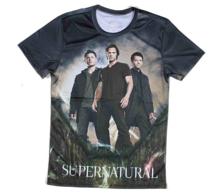 Supernatural T Shirt All Over Printed