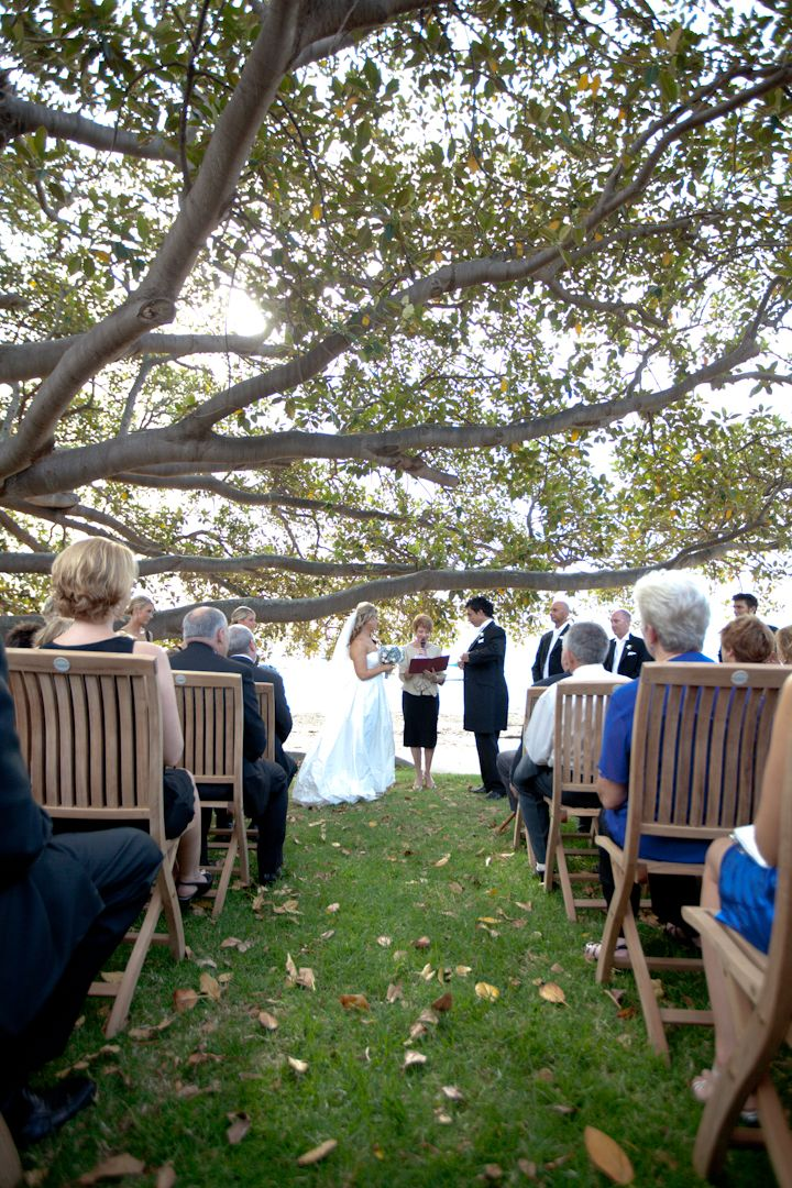 Dunbar House Wedding Ceremony in Watsons Bay