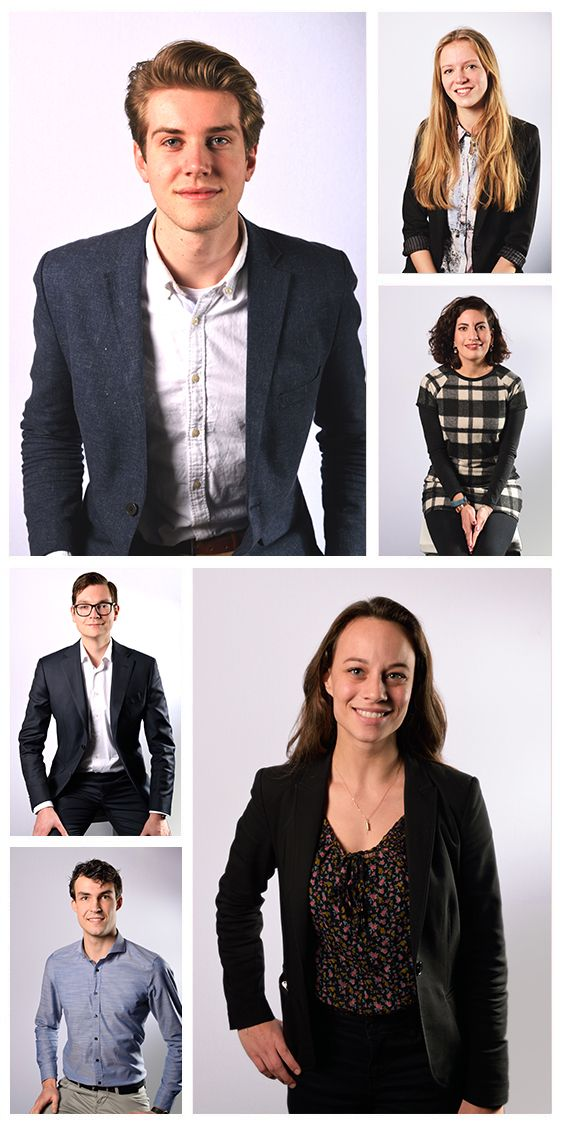 A compilation of the professional profile pictures I shot at the Beta Business Days 2017 in Groningen.