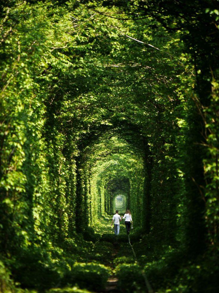 Тоннель любви и картинки