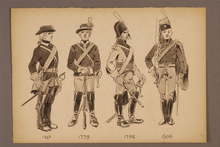 The hussar regiment of Skåne 1765-1806 by Einar von Strokirch