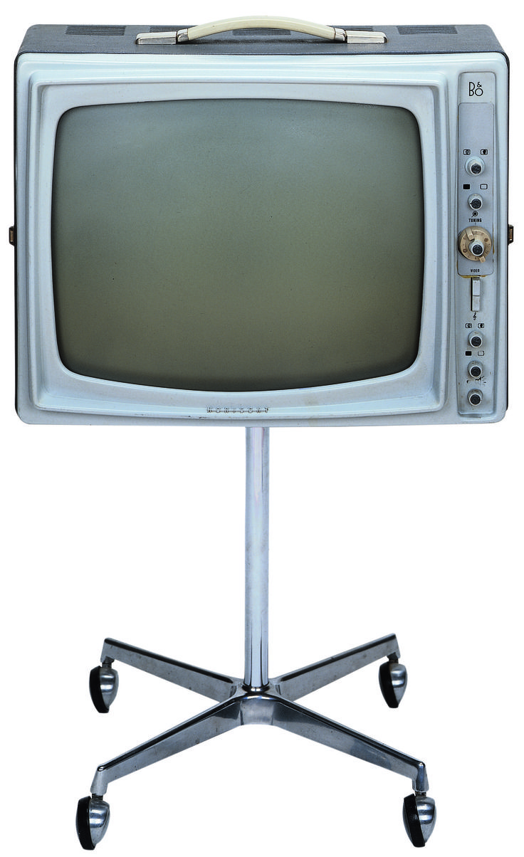 The ancestor of Beovision Horizon was launched in 1962 with the name Beovision Horisont! The TV, featuring four wheels, was a novel way to make TVs transportable and flexible!