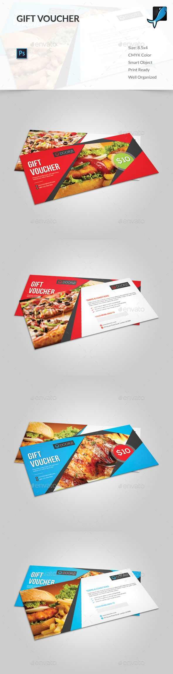 39 best gift voucher images on pinterest psd templates loyalty buy gift voucher by orcshape on graphicriver features easy to edit cmyk color mode with bleed help guide included photoshop psd file smart obje yelopaper Image collections