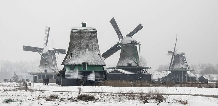 the mills   de molens - #zaanseschans