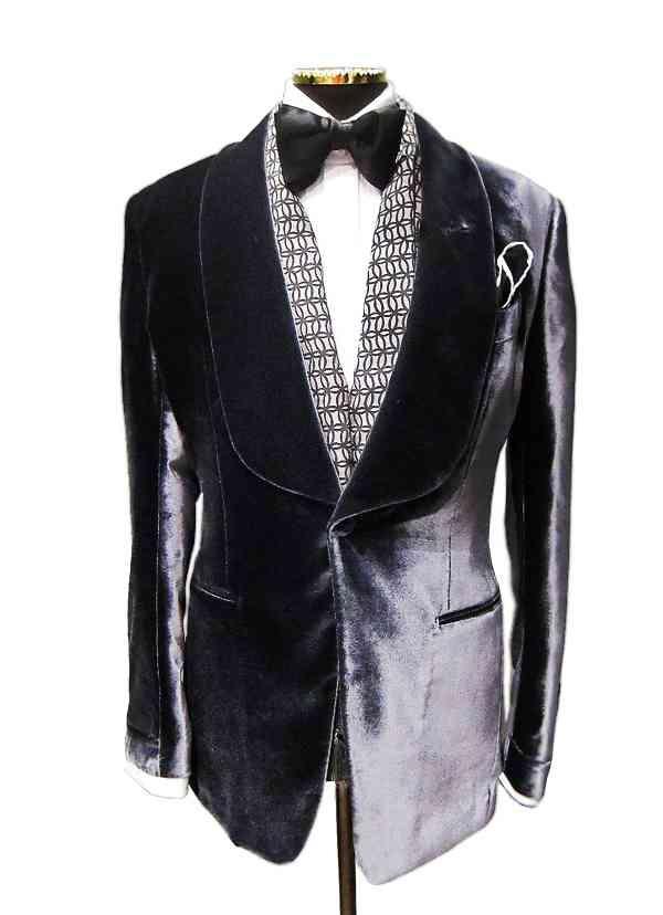 Tom Ford Silk Velvet Smoking Jacket Objects Of Desire