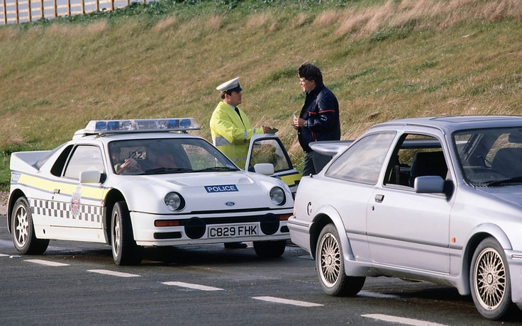 Ford RS200 Police Car UK