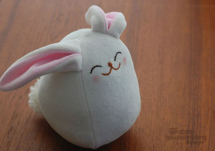 Sophia the Bunny - Free pattern. Door stops for new house!! :)