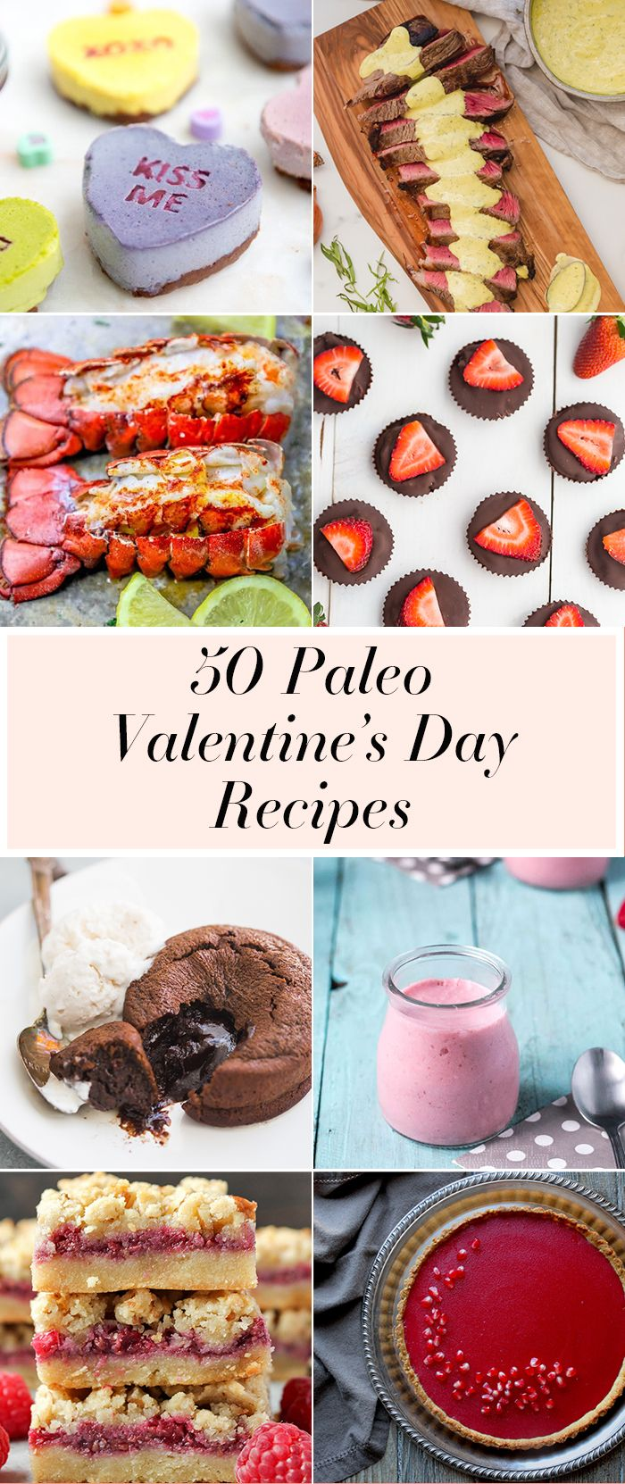 I've compiled 50 paleo Valentine's Day recipes for a totally magical (and healthy!) Valentine's at home. From chocolate to paleo conversation hearts, lobster to Whole30 steak with bearnaise sauce, this roundup of paleo Valentine's Day recipes is your go-to for a delicious love day. And you know what? You could have an altogether killer Galentine's Day brunch with these paleo Valentine's Day recipes. Focus on the desserts, of course! #whole30 #whole30recipes #paleo #paleorecipes…