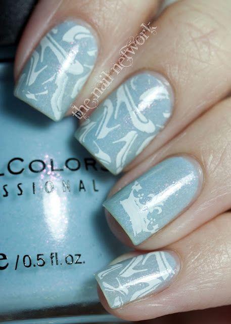 Cinderella Slipper Disney Manicure