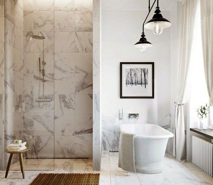 17 meilleures id es propos de carrelage marbre sur - Plaque imitation carrelage salle de bain ...