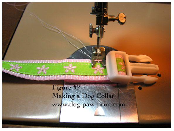 How to sew a custom dog collar.   Oh man....gotta go hit the fabric shop!!!