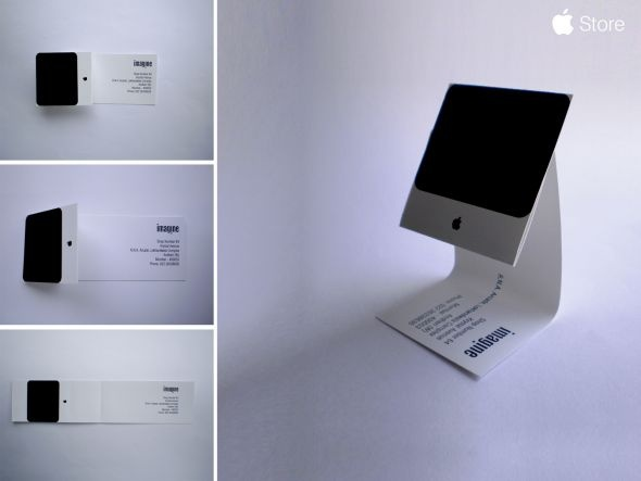 Apple: iMac Business Card