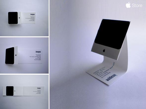 Apple: iMac Business Card