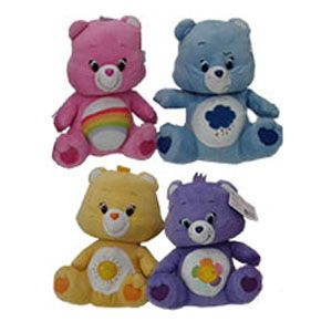 Disney Care Bears Plush Toys  In our stunning Care Bears plush toy collection, kids can choose from 4 different colourful characters: