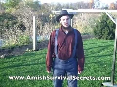 Amish Survival Secrets and How To Set Up A Sustainable Water Supply To Drink and Use