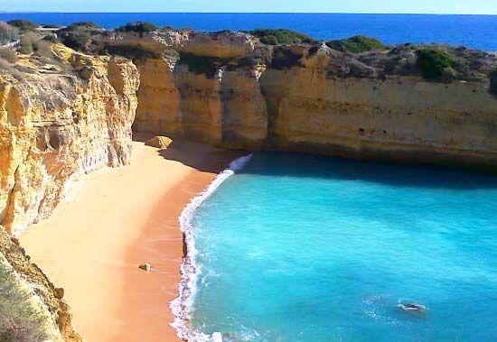 Praia da Galé-Albufeira-Algarve