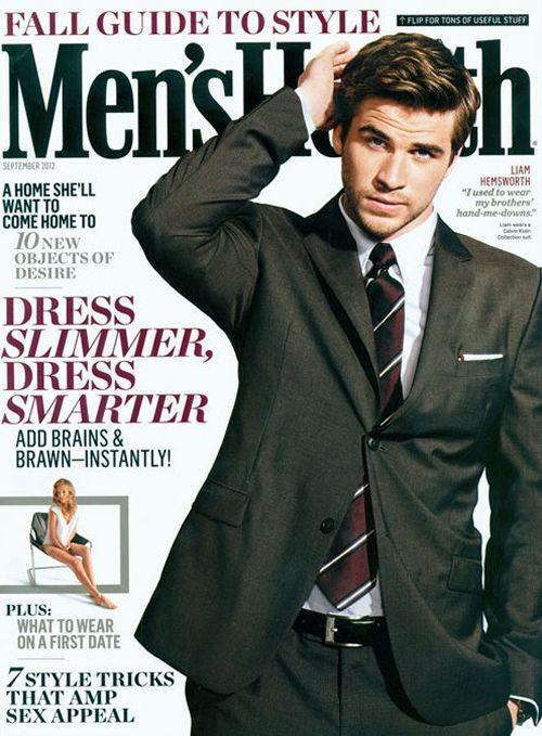 Liam Hemsworth: Hemsworth Erotic, Erotic Romances, Fall Style, Hemsworth Covers, Candyliam Hemsworth, Men Health Magazines, September 2012, Magazines Covers, Hemsworth Men
