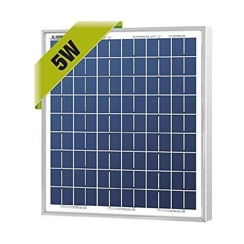 Newpowa High Efficiency 5w 12v Poly Solar Panel Module Rv Marine Boat Off Grid In 2020 Solar Panels Off Grid Solar Power Solar Panel Module