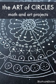 Art and math projects about circles :: art and math lesson plans :: ideas for STEAM lessons