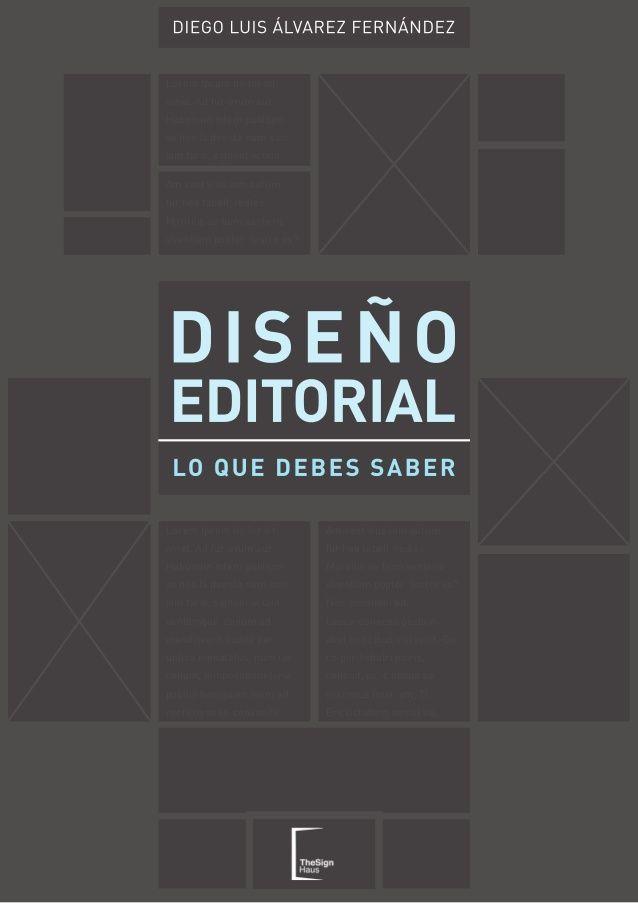 Libro Diseño Editorial lo que debes saber