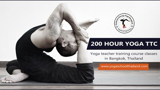 Embrace Energy Yoga School is one of the best yoga school accredited from Yoga Alliance #USA as #RYS - #Registered Yoga School where you will get certified as RYT-200 - Registered Yoga Teacher. Yoga at Embrace Energy Yoga School is based on traditional Hatha yoga with ancient yogic techniques. http://yogaschoolthailand.com/registered-ttc/200-hour-yoga-teacher-training-bangkok.html