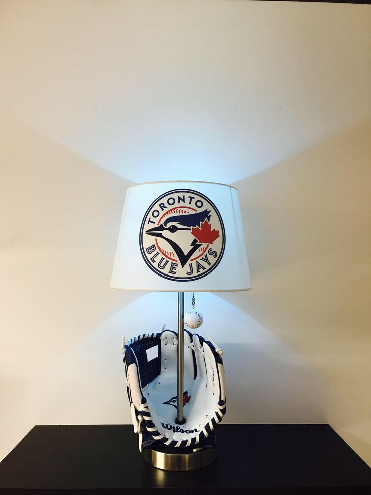 Toronto Blue Jays Lamp Baseball MLB Light