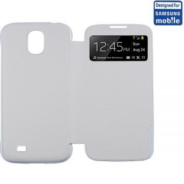 Husa Anymode Single View Alba Samsung Galaxy S4