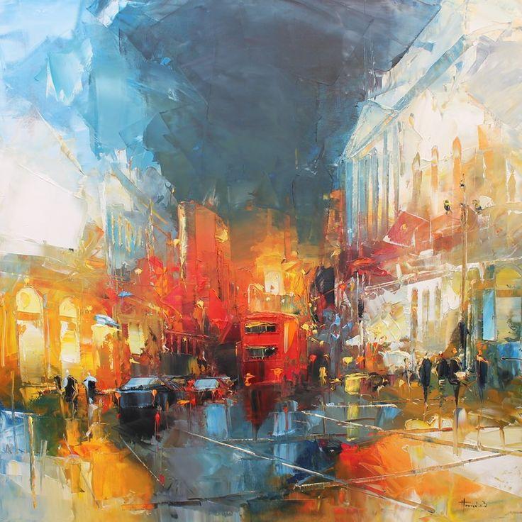 Londres - Painting ©2015 par Benoit Havard -  Peinture