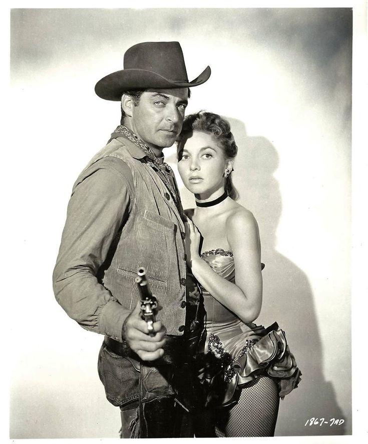 THE SAGA OF HEMP BROWN (1958) - Rory Calhoun & Beverly Garland - Universal-International - Publicity Still.