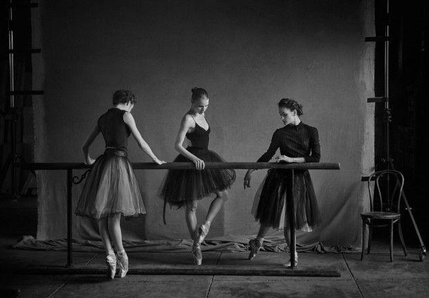 New York City Ballet Series by Peter Lindbergh