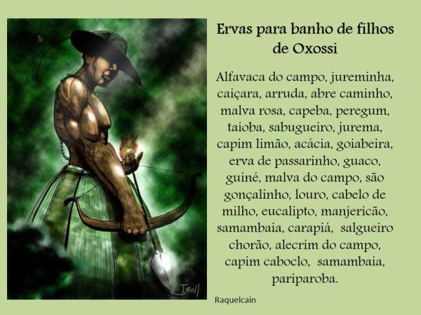 Banhos de Oxossi