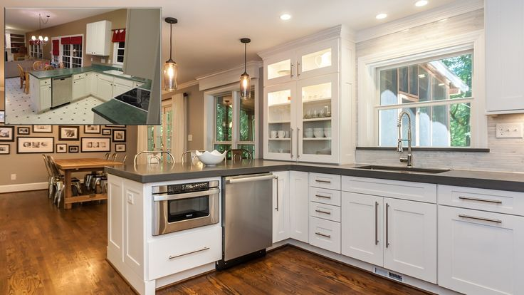 Before And After Kitchen Remodels: U Shaped Kitchen Remodel Ideas Before And After Cabin Bath Scandinavian Large Pavers Kitchen Plumbing Contractors