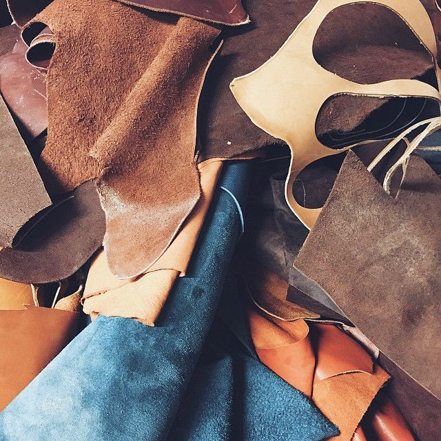 we work to the new collection ✌️ #leather #workongoing #scoutsupply