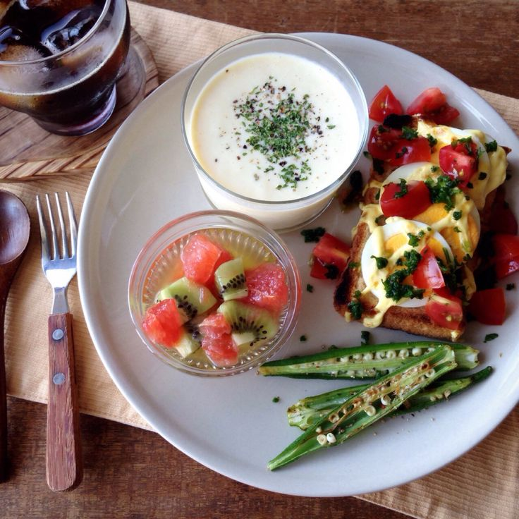 breakfast. 朝ごはん