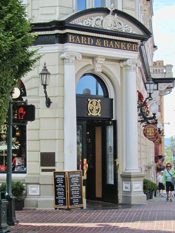 Victoria Bard and Banker Pub Scottish Pub in Victoria, BC.