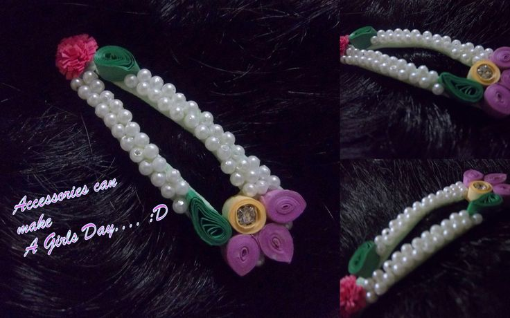 Quilled hair accessory