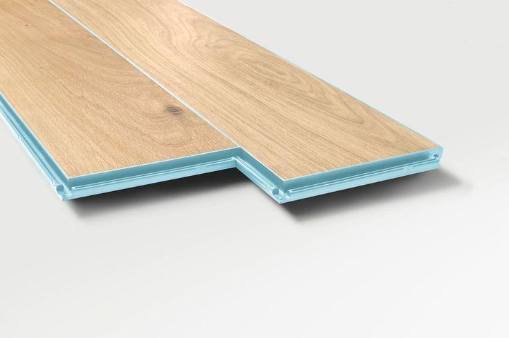 hüma HYDRO PARQUET Eiche Arktik, geölt, Fugenfarbe pastellgelb  Produktserie Color