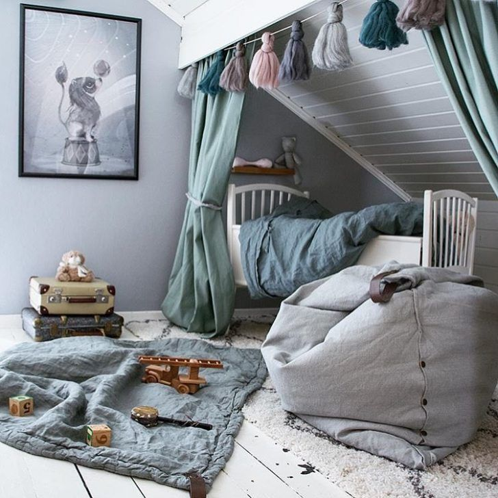 6 Cute Attic Rooms – Ideas and Photos